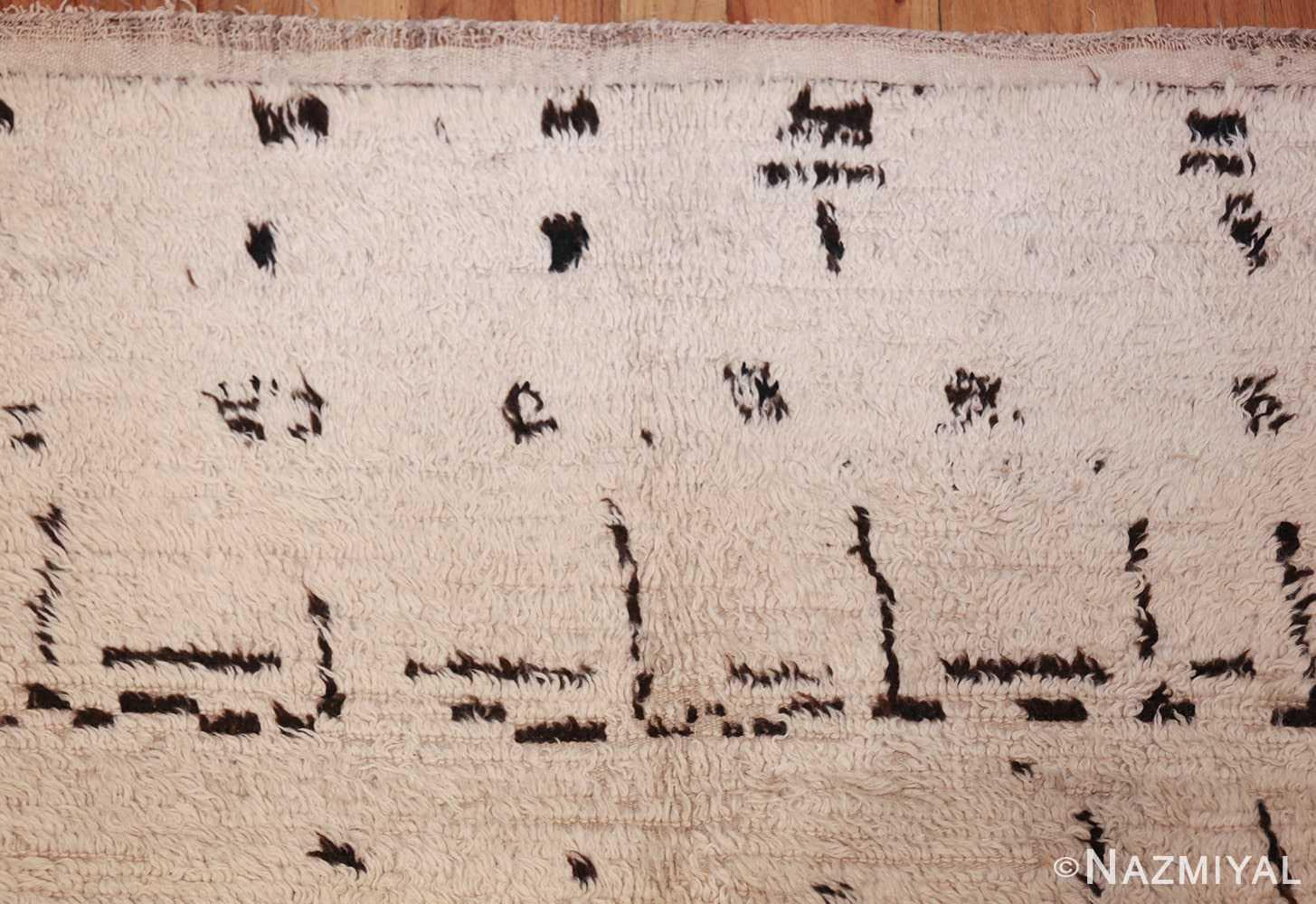 vintage moroccan rug 46029 top Nazmiyal