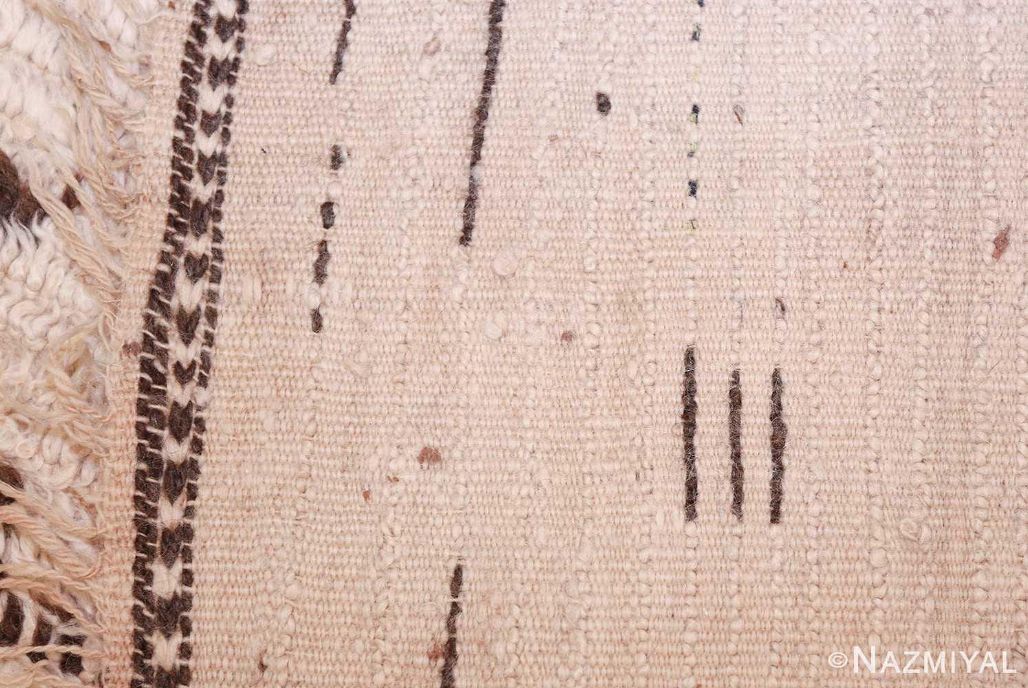 vintage moroccan rug 46029 weave Nazmiyal