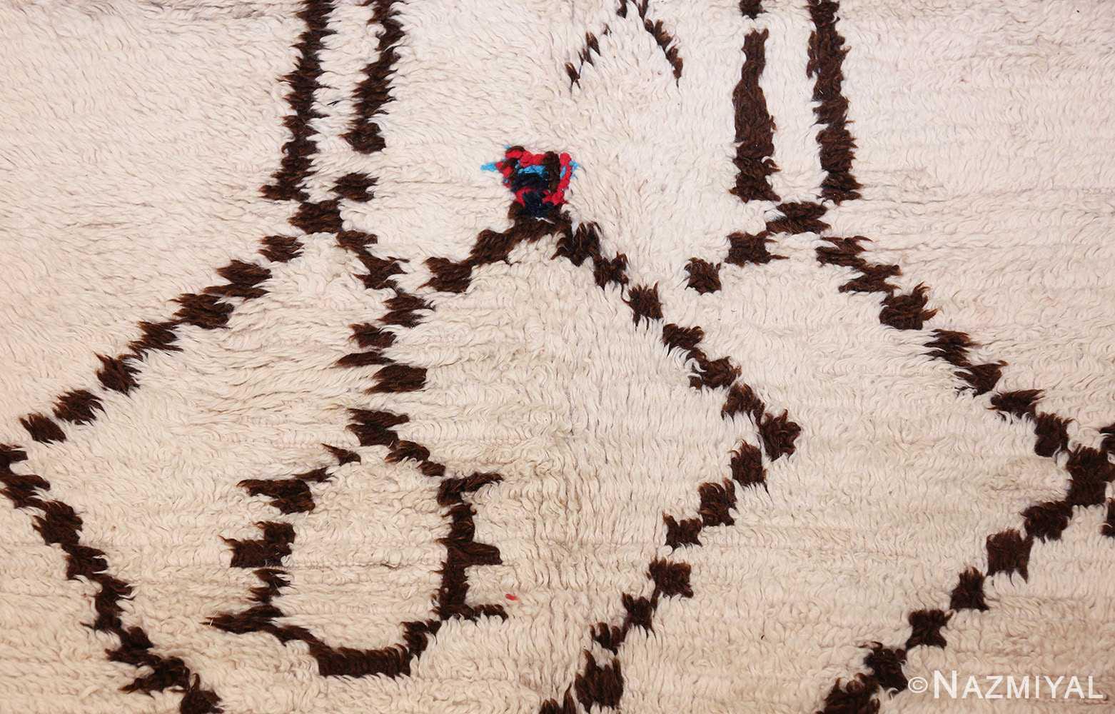 vintage moroccan rug 46039 color Nazmiyal