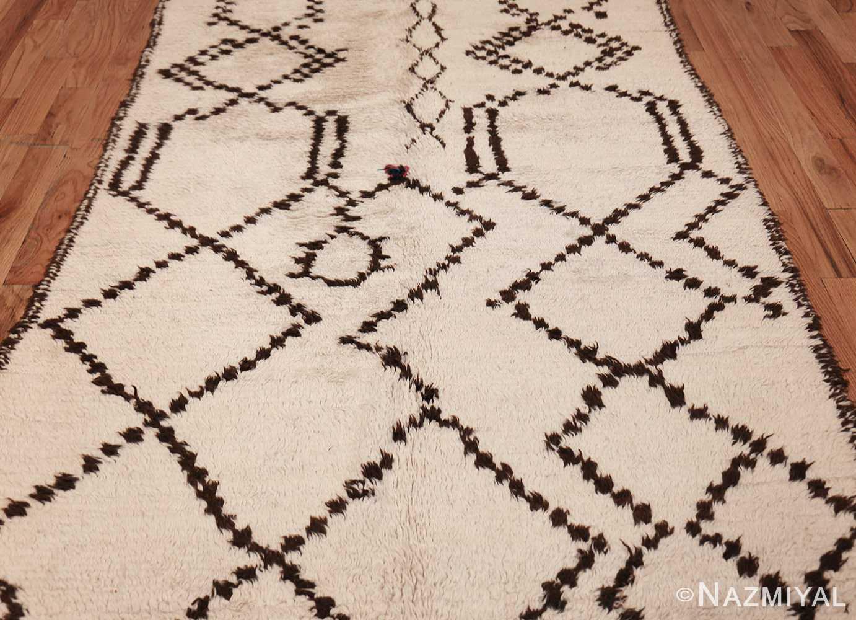 vintage moroccan rug 46039 field Nazmiyal