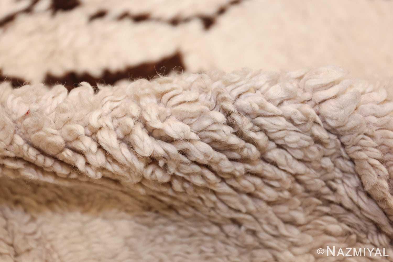 vintage moroccan rug 46039 pile Nazmiyal