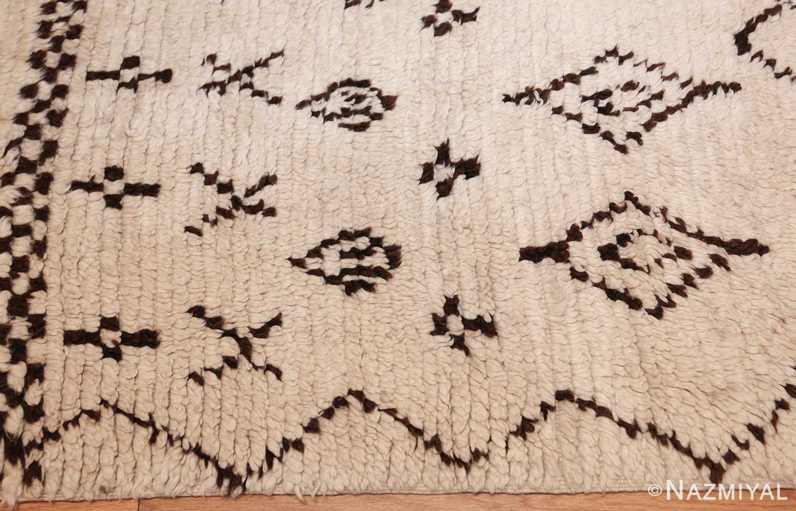 vintage moroccan rug 46041 border Nazmiyal
