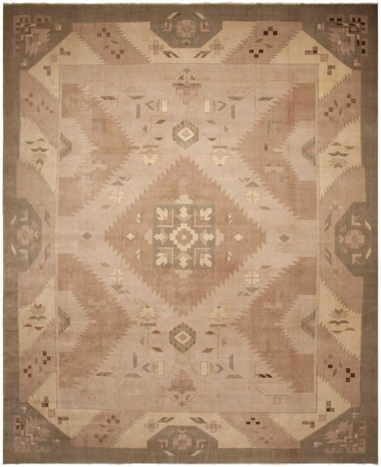 Antique Art-Deco Rug 44926 Detail/Large View