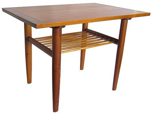 Mid Century George Nakashima Widdicomb Occasional Table Nazmiyal