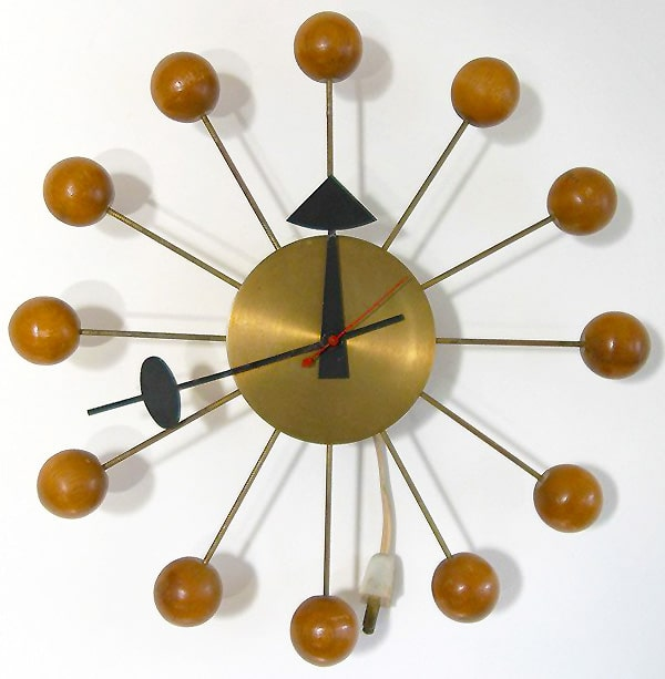 Mid Century Clock 4755 Designed by George Nelson Nazmiyal