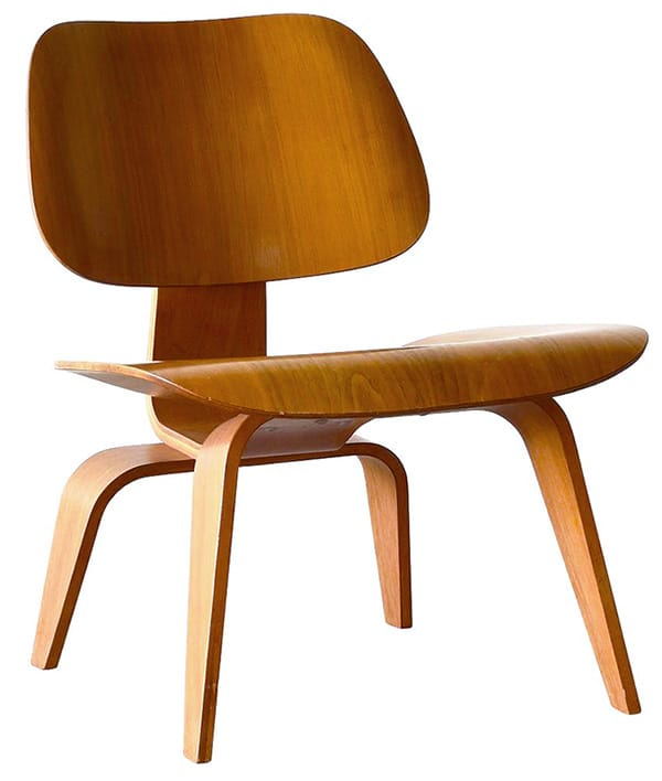 Mid Century LCW Chair Designed by Herman Miller Nazmiyal