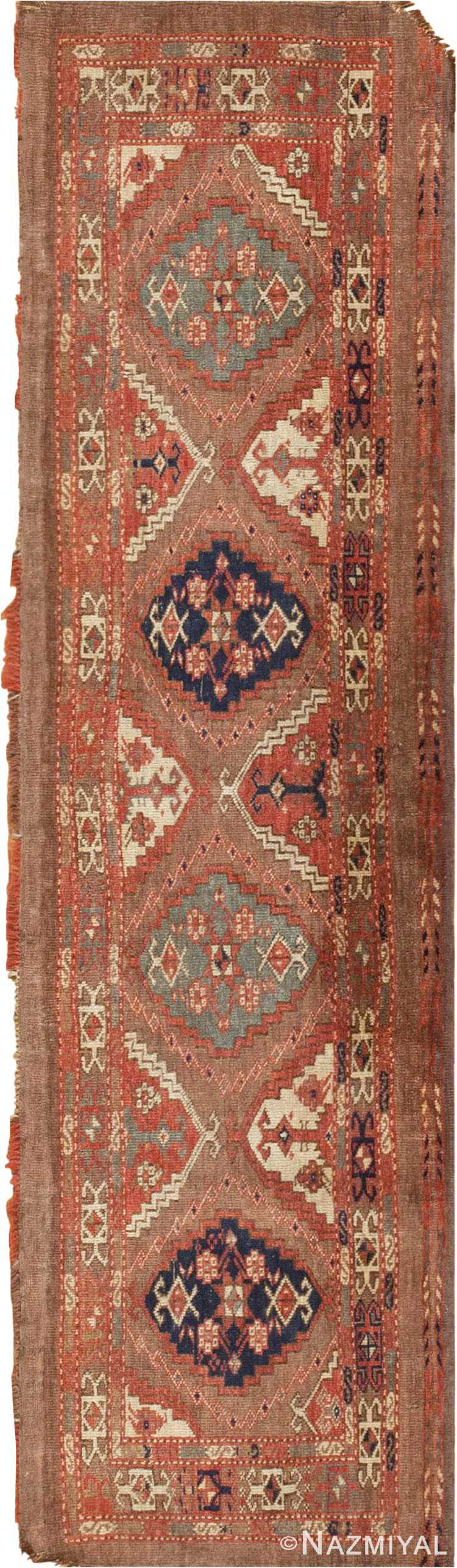 Antique Central Asian Yomut Rug #46112 by Nazmiyal Antique Rugs