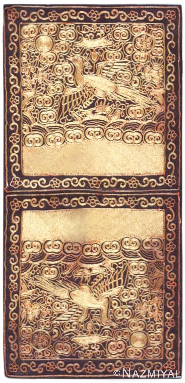 antique chinese rank badge 46127 Nazmiyal