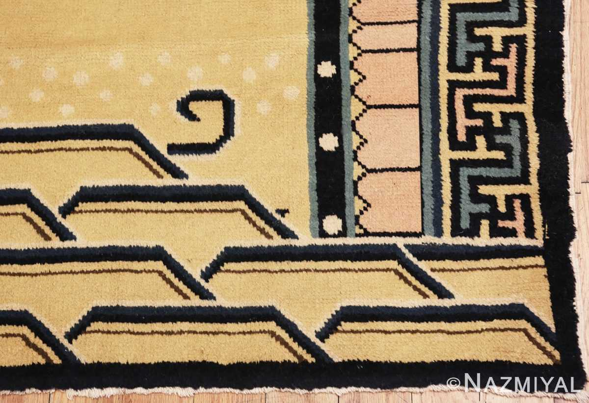 Picture of the border Antique Chinese Rug 46138