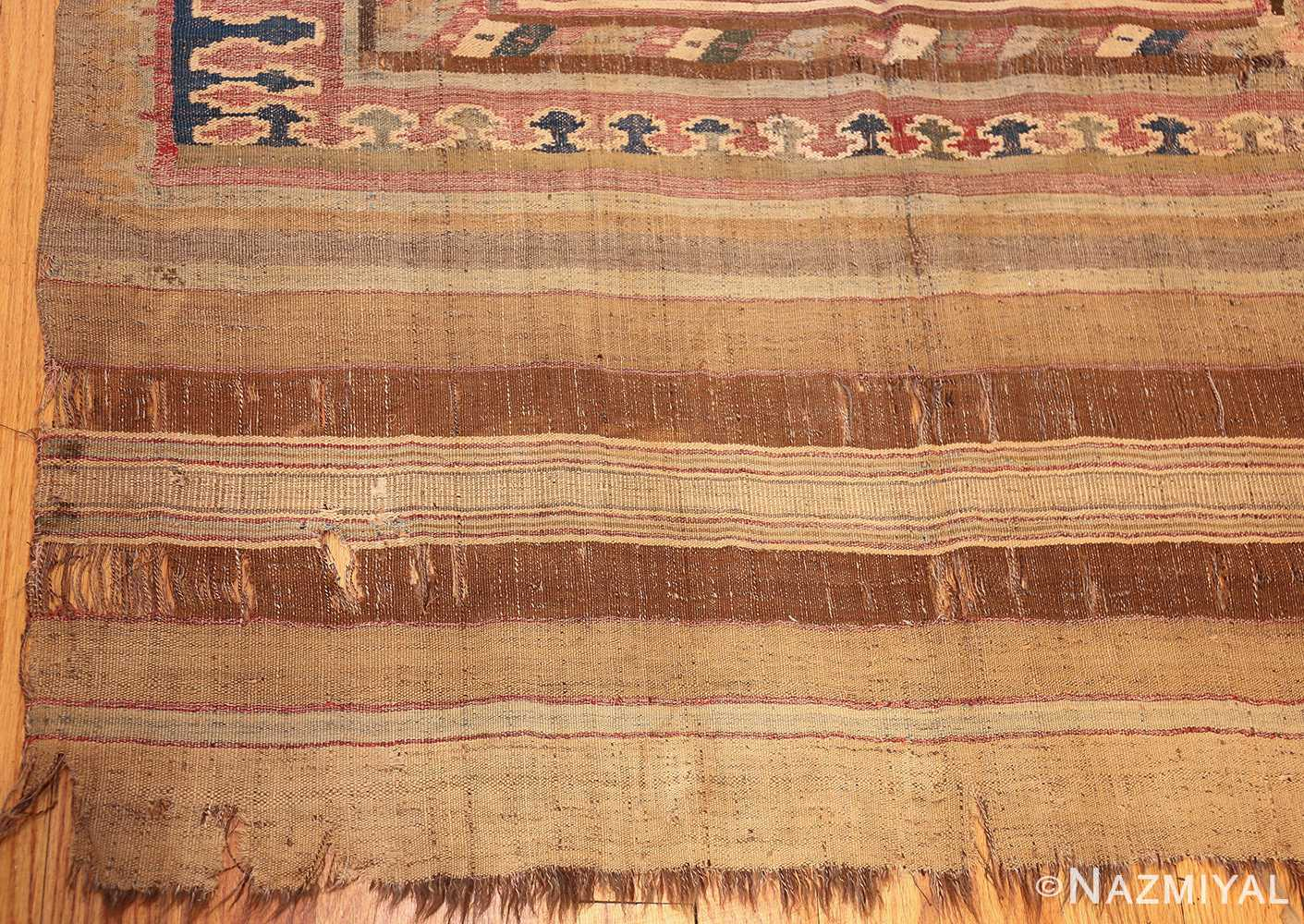 antique persian kilim 46109 corner Nazmiyal