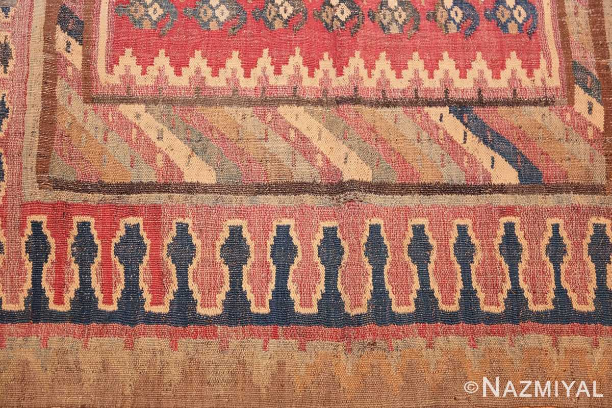 antique persian kilim 46109 detail Nazmiyal