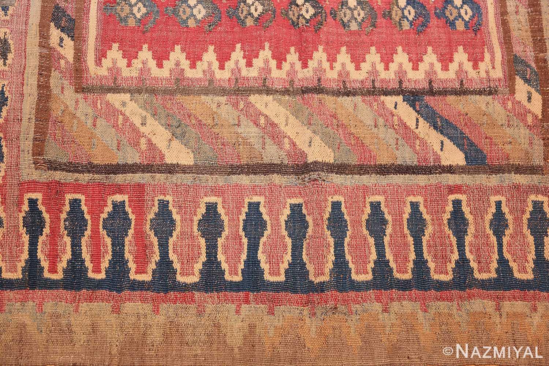 antique persian kilim 46109 detail Nazmiyal