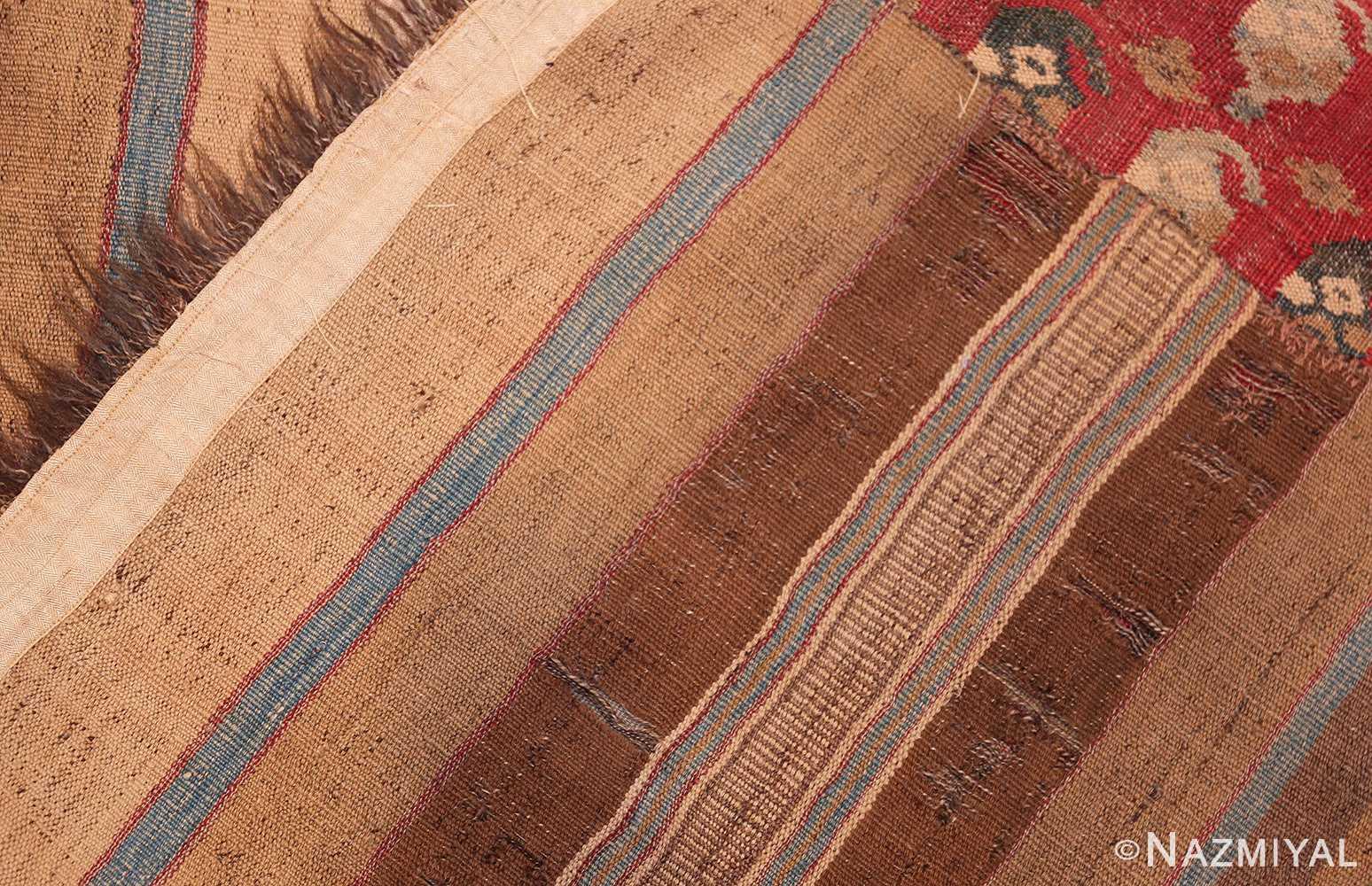 antique persian kilim 46109 weave Nazmiyal