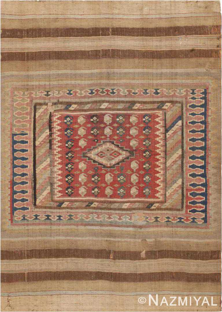 Antique Persian Sofreh Kilim Rug #46109 by Nazmiyal Antique Rugs