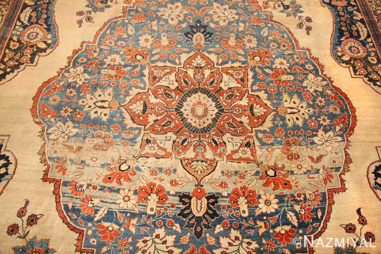 antique tabriz persian rug 45778 medallion Nazmiyal