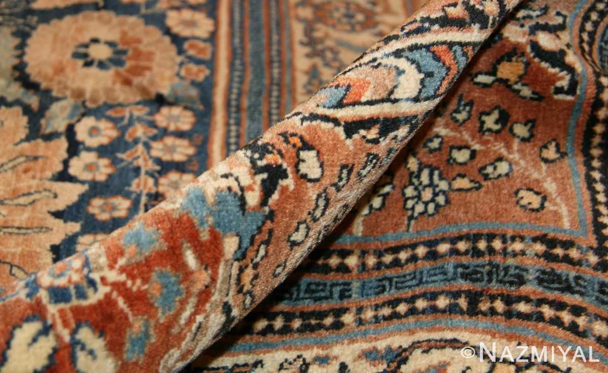 antique tabriz persian rug 45778 pile Nazmiyal