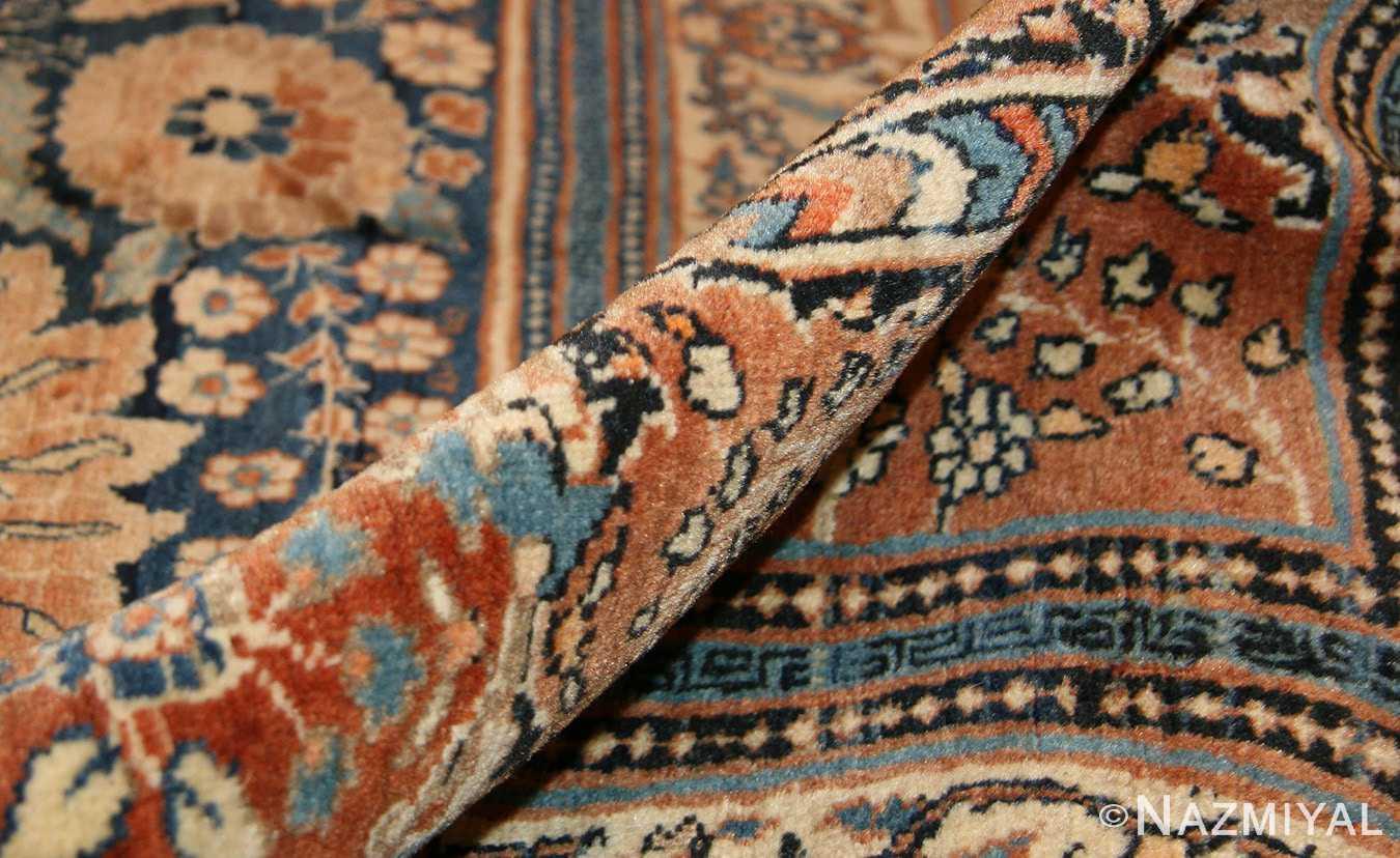 antique tabriz persian rug 45778 pile Nazmiyal