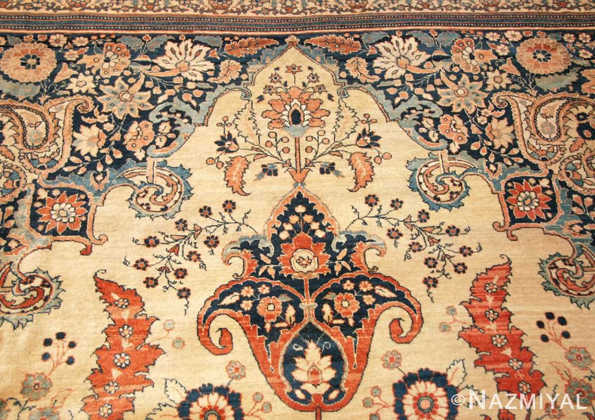 antique tabriz persian rug 45778 top Nazmiyal