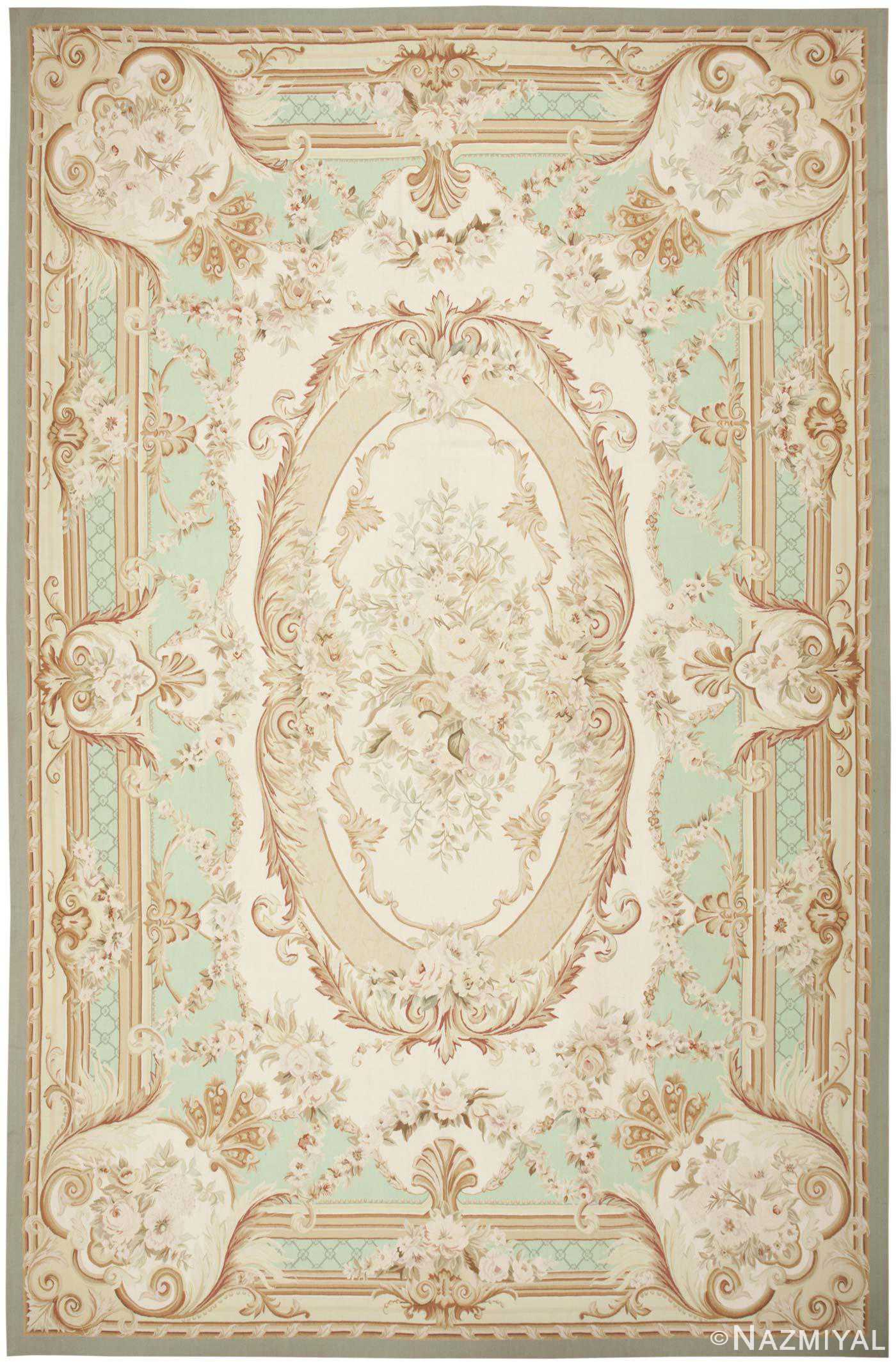Modern Chinese Aubusson Rug 44694 Detail/Large View