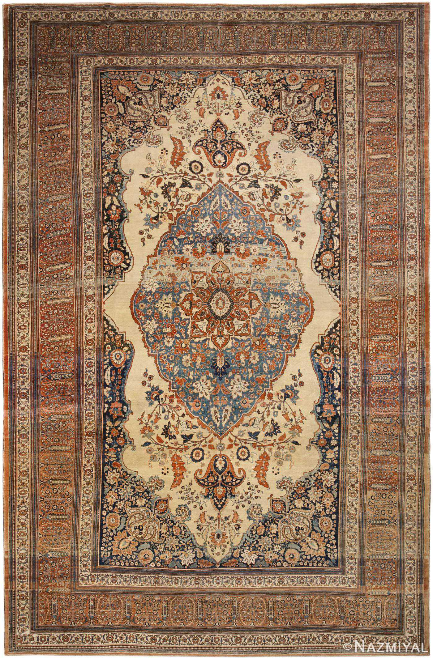 Antique Persian Rug 45778 Detail/Large View