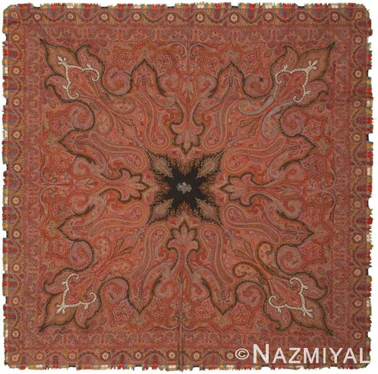 Antique Shawl 46117 Detail/Large View