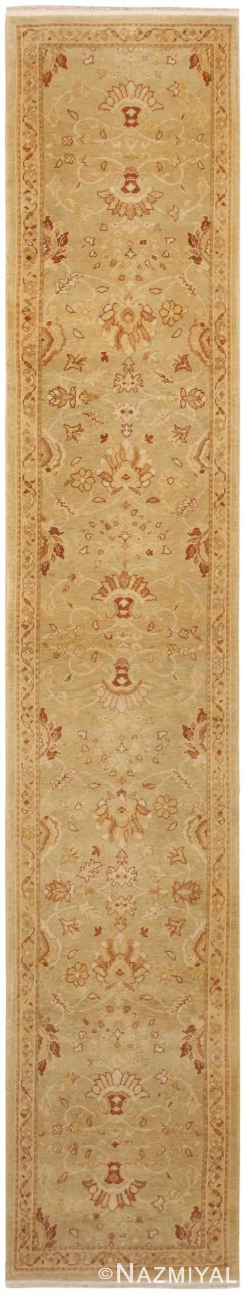 Contemporary Modern Oushak Runner Rug 46155 Nazmiyal