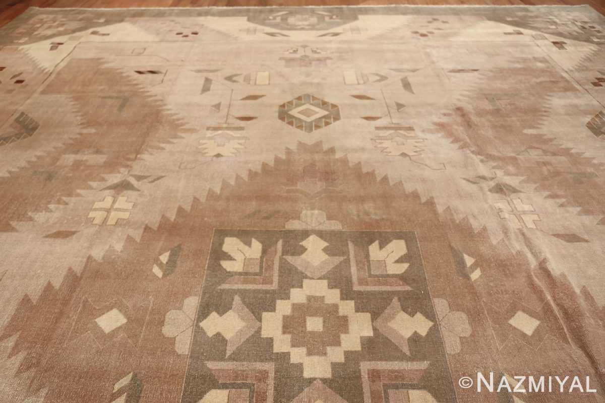 Large Oversized Geometric Art Deco Indian Vintage Rug 44926 Top Design Nazmiyal