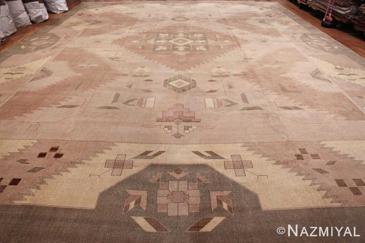 Large Oversized Geometric Art Deco Indian Vintage Rug 44926 Whole Design Nazmiyal