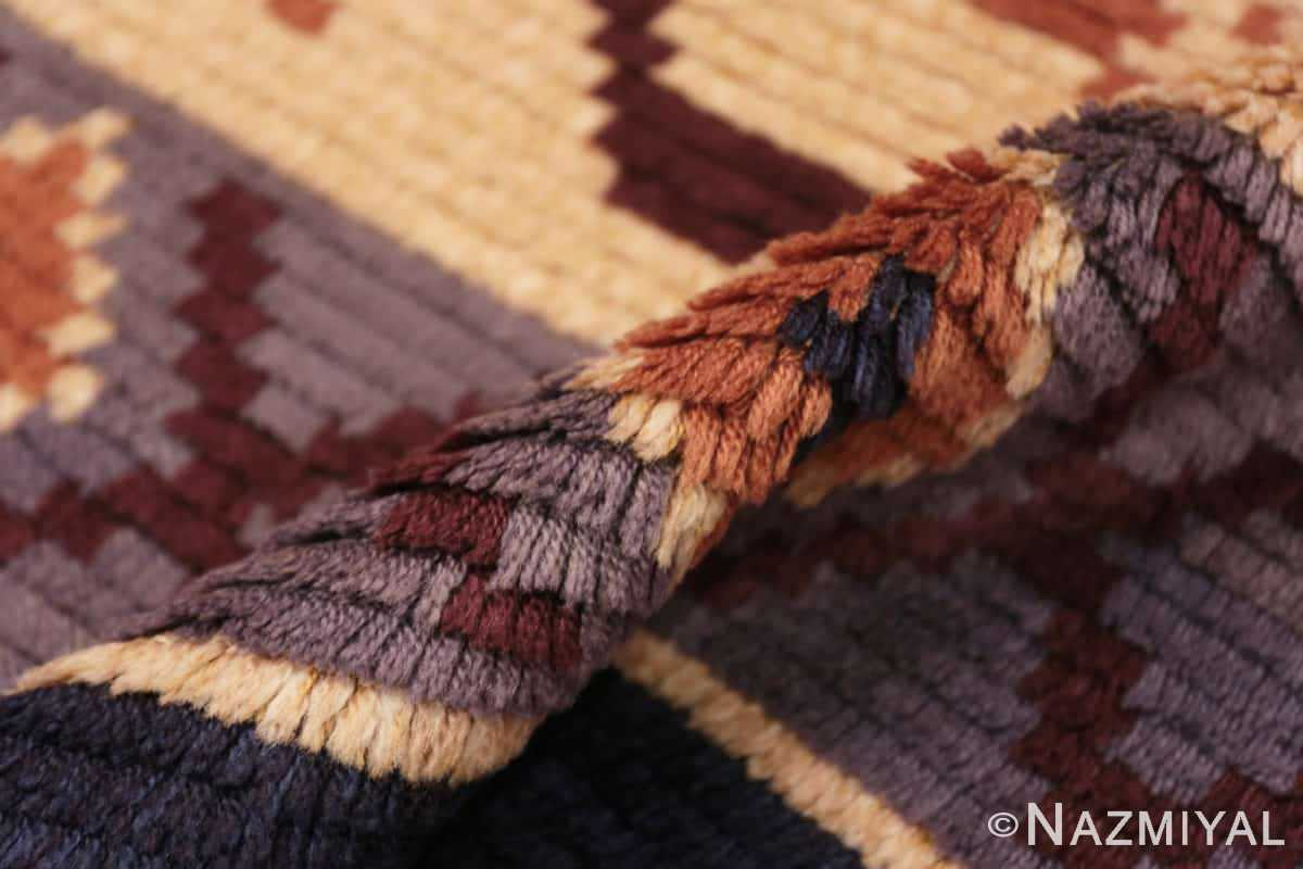 Pile Vintage Swedish design by Barbro Springchorn rug 46144 from the Nazmiyal collection