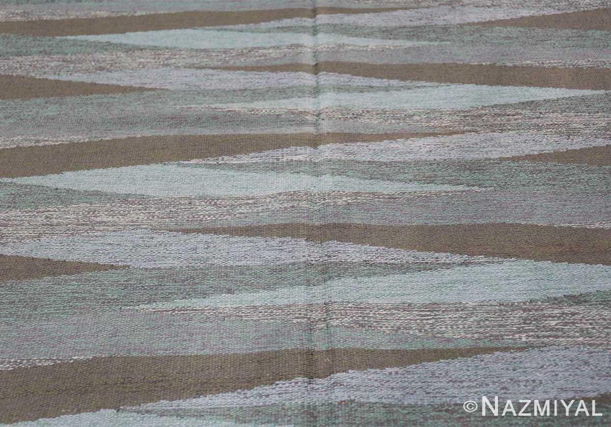 vintage swedish rug by elsa Gullberg 46162 field Nazmiyal