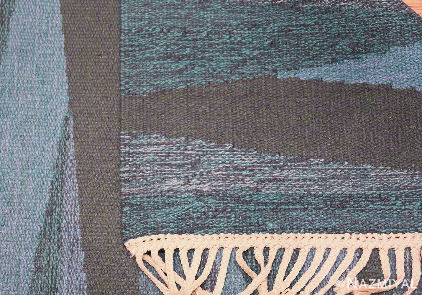 vintage swedish rug by elsa Gullberg 46162 knots Nazmiyal