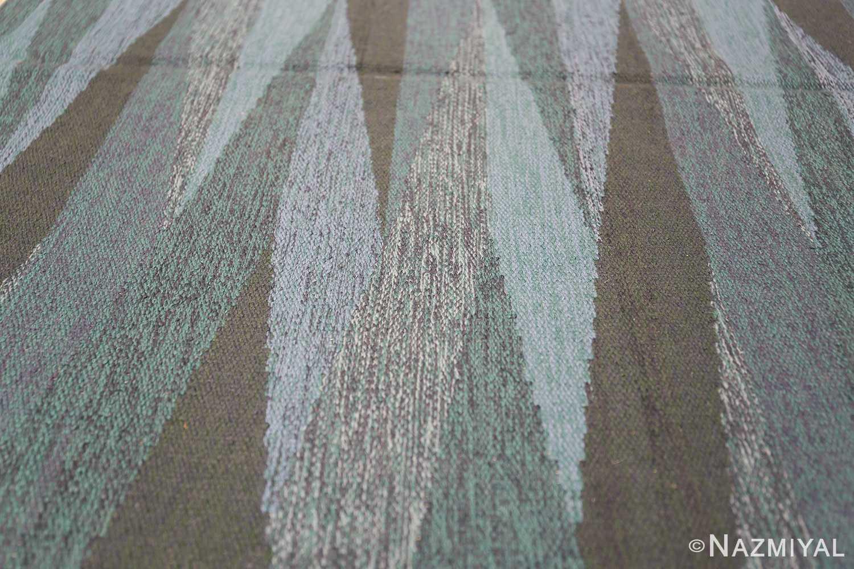 vintage swedish rug by elsa Gullberg 46162 lines Nazmiyal