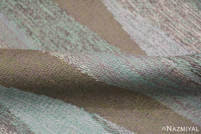 vintage swedish rug by elsa Gullberg 46162 pile Nazmiyal