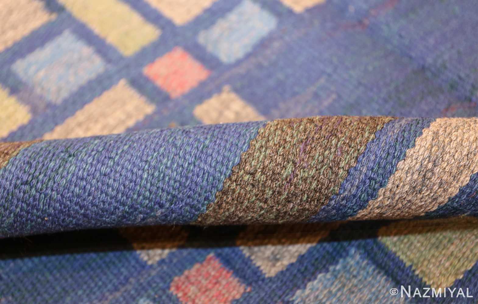 vintage swedish rug by judith johansson 46161 pile Nazmiyal