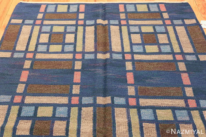 vintage swedish rug by judith johansson 46161 top Nazmiyal