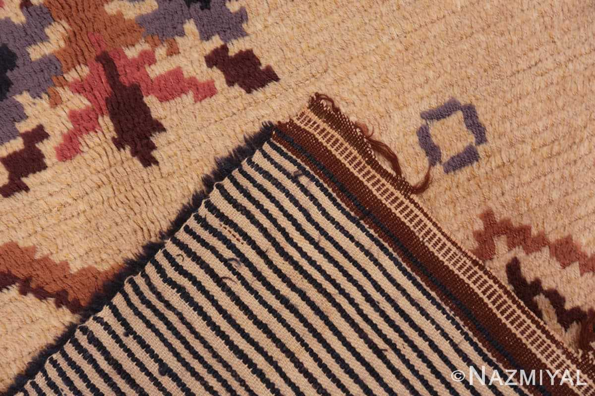Weave Vintage Swedish design by Barbro Springchorn rug 46144 from the Nazmiyal collection