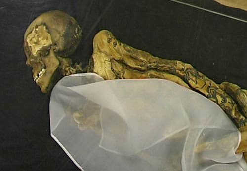 "Mummy Of The Ukok Princess the ""Siberian Ice Maiden"""