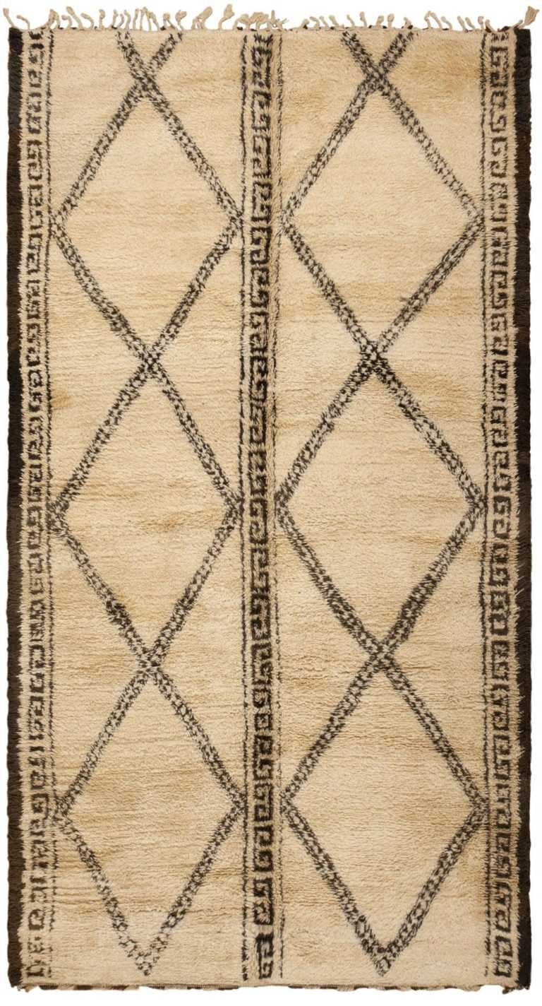 Vintage Moroccan Rug 46168 Detail/Large View