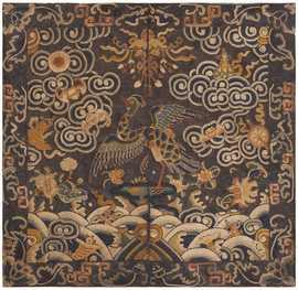 Antique Chinese Rank Badge 46182 Large Image