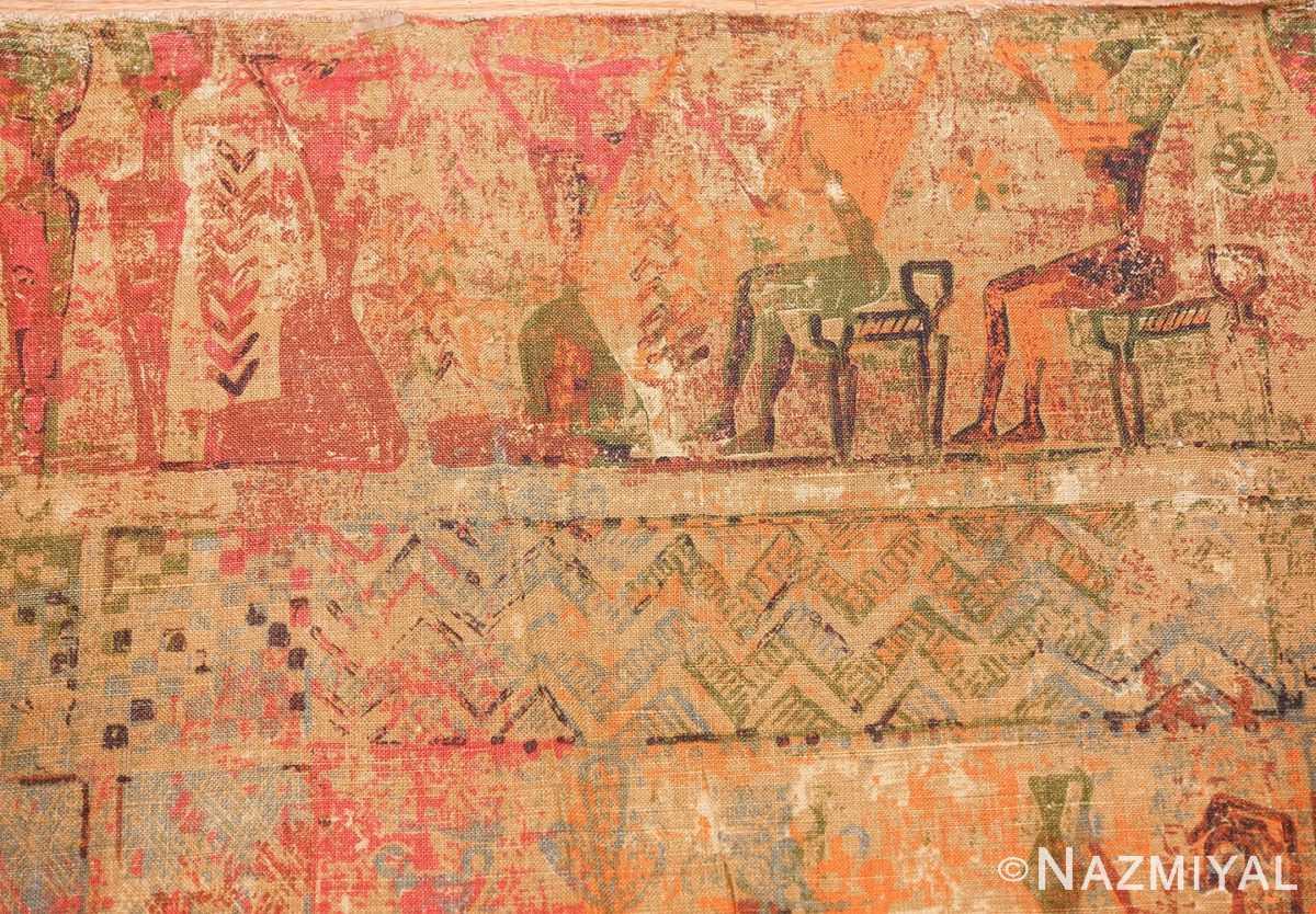 antique egyptian textile 46175 border Nazmiyal