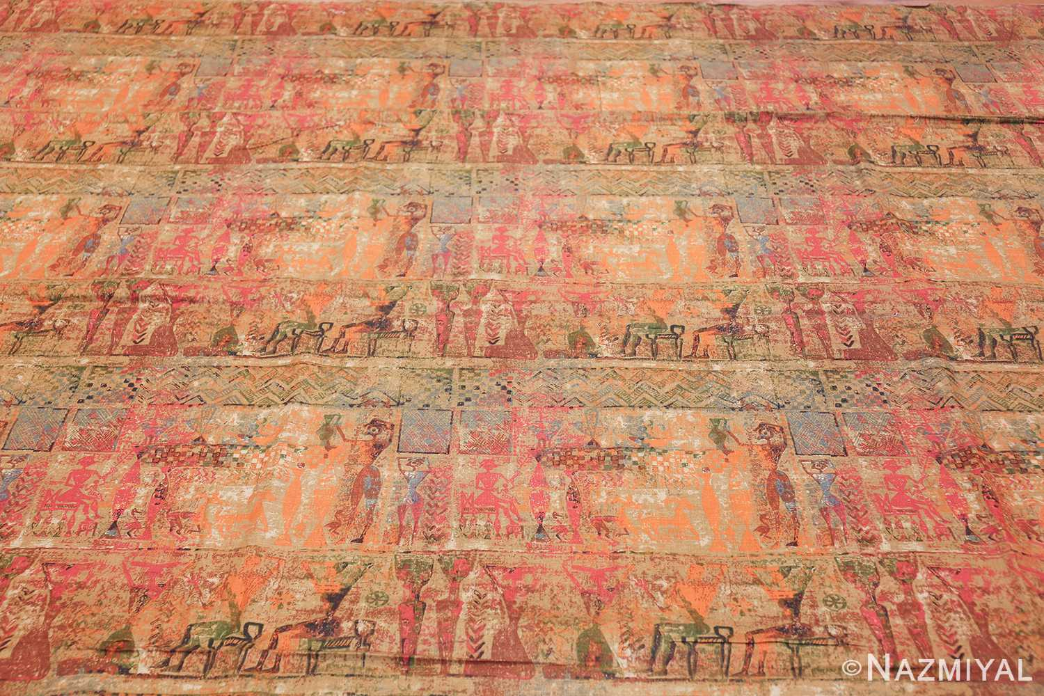 antique egyptian textile 46175 field Nazmiyal