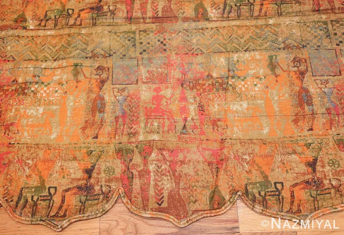 antique egyptian textile 46175 maid Nazmiyal
