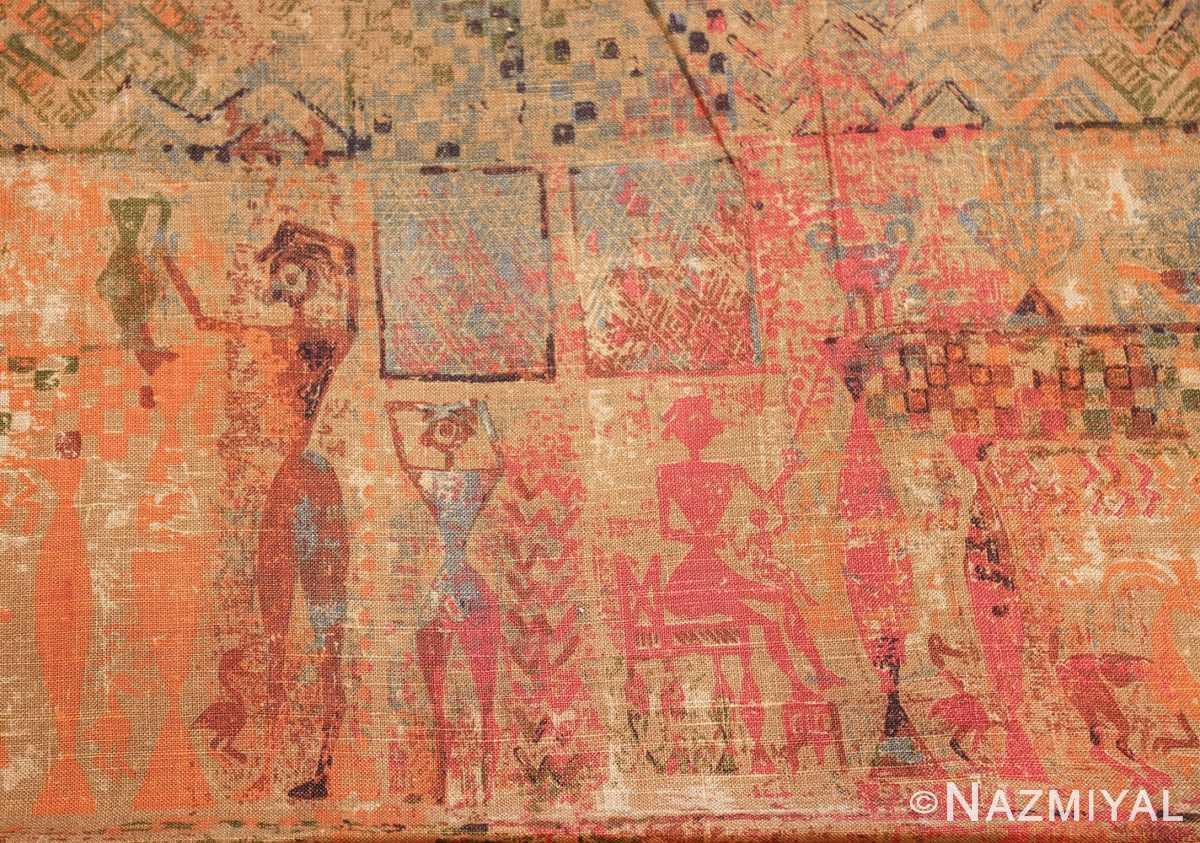 antique egyptian textile 46175 panel Nazmiyal
