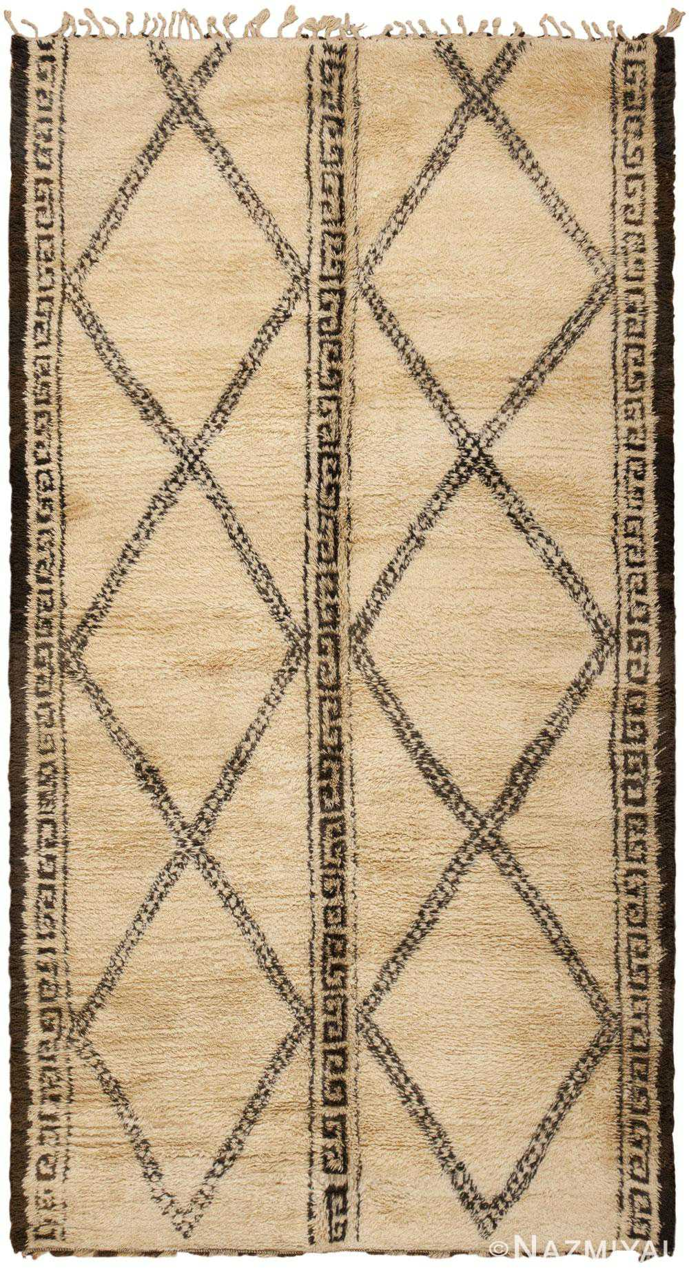 Vintage Moroccan Rug 46168 Detail/Large View
