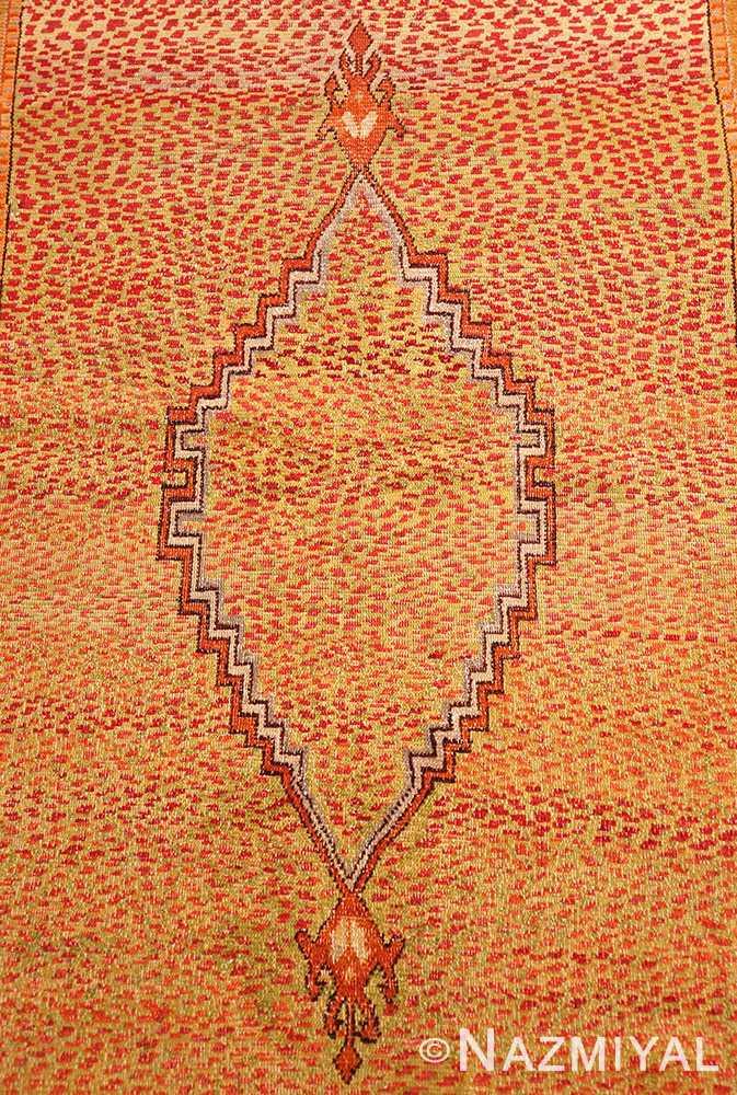 Field Antique East Turkestan Khotan rug 45504 b Nazmiyal