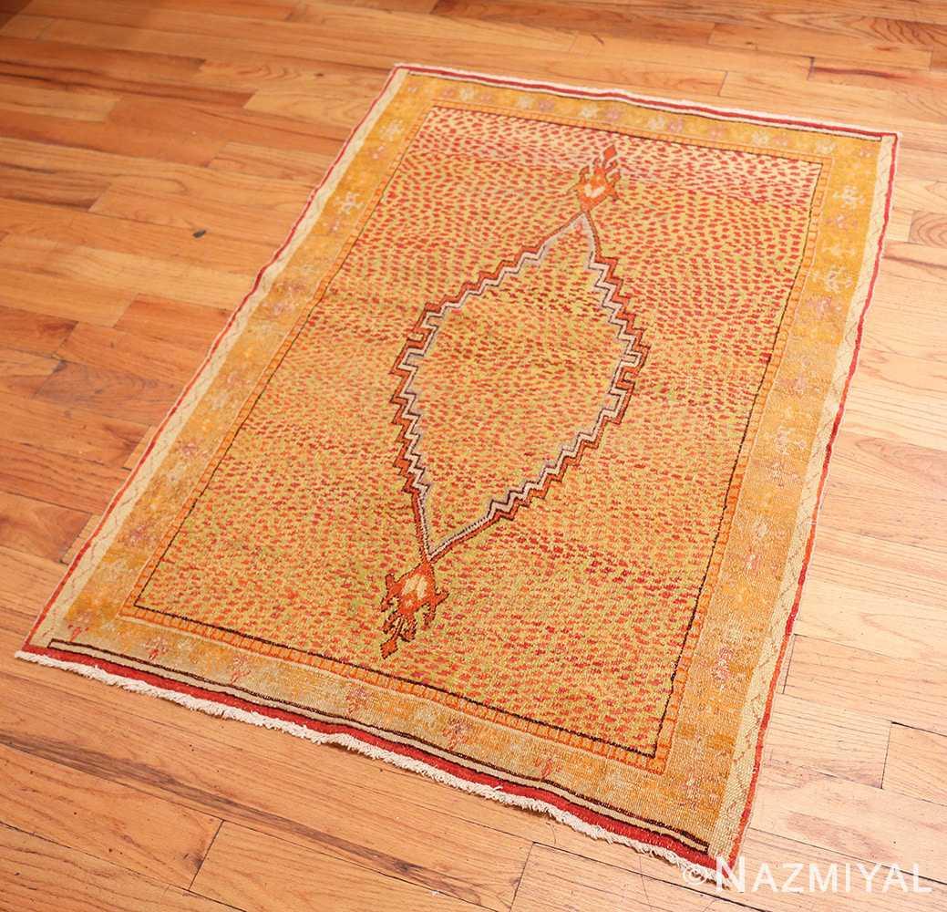 Full Antique East Turkestan Khotan rug 45504 b Nazmiyal