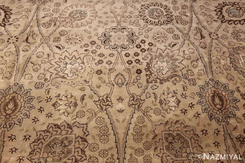 vintage persian tabriz rug 45768 design Nazmiyal
