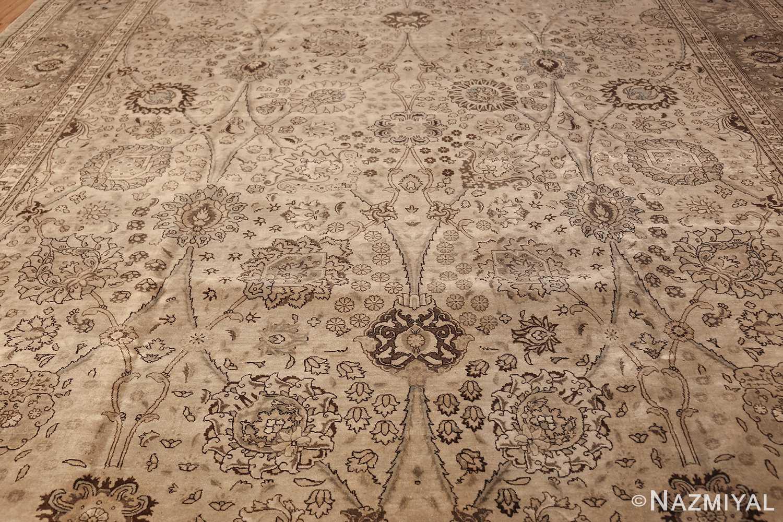 vintage persian tabriz rug 45768 field Nazmiyal