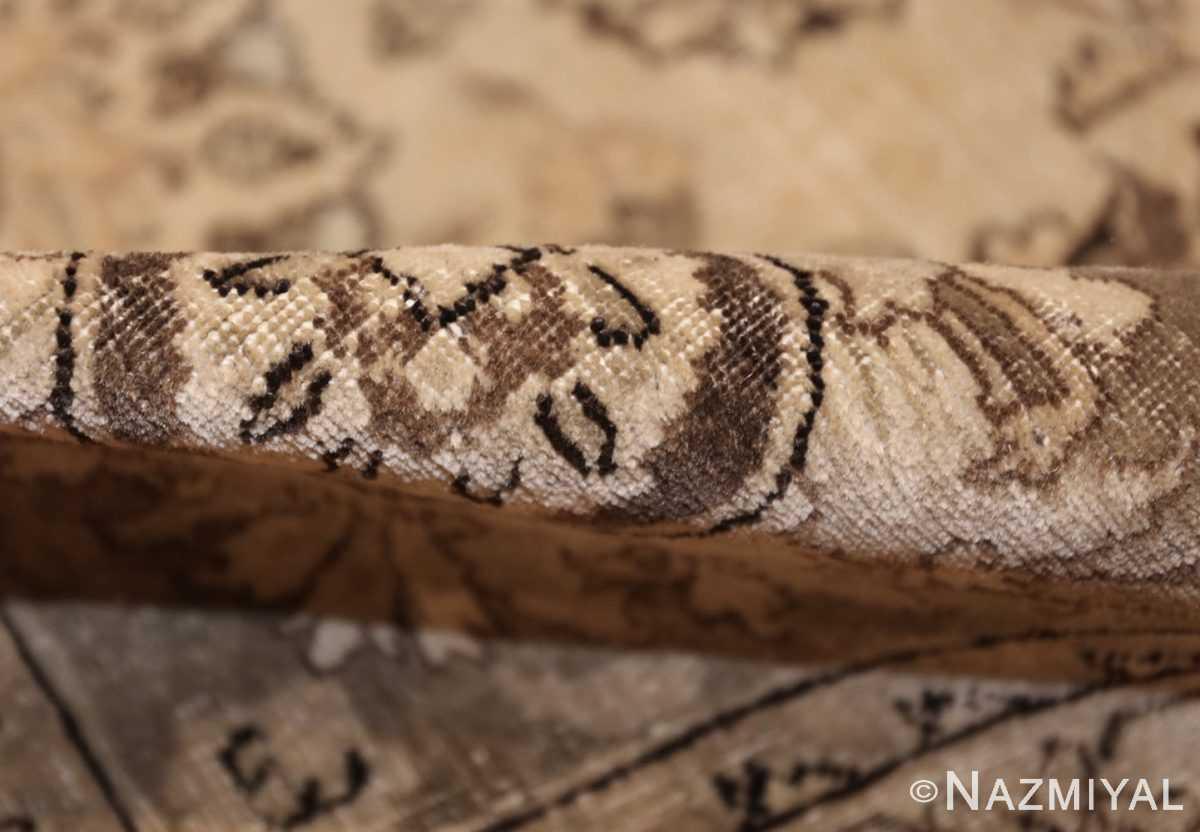 vintage persian tabriz rug 45768 pile Nazmiyal