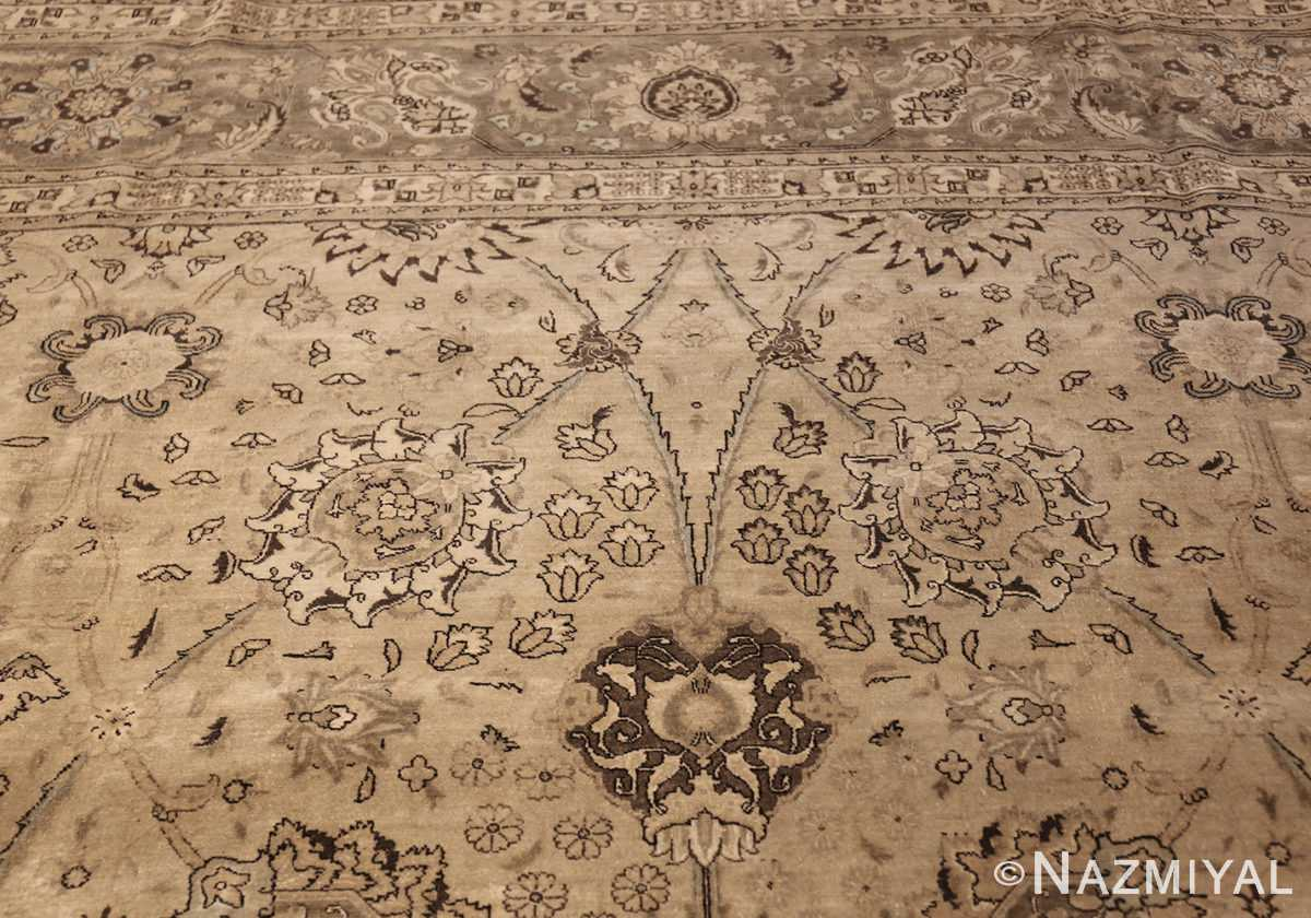 vintage persian tabriz rug 45768 top Nazmiyal
